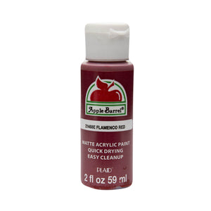 APPLE BARREL FLAMENCO RED (2OZ)