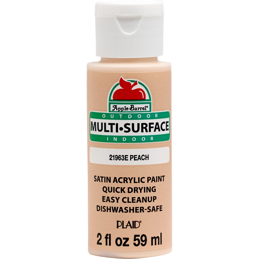 APPLE BARREL MULTI USE PEACH ( 2OZ)