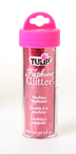 Bargain Corner - Tulip Fabric Fashion Glitter Apple Red .63oz
