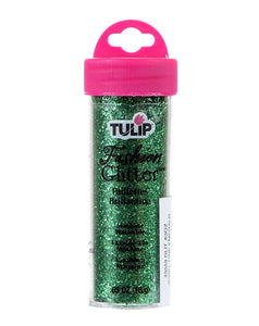 Tulip Fashion Fabric Glitter Fine Emerald .63oz