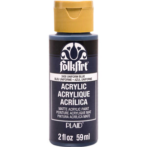 FOLKART ACRYLIC UNIFORM BLUE (2OZ)