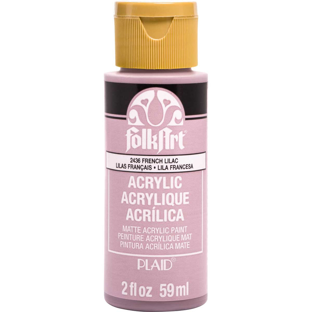 FOLKART ACRYLIC FRENCH LILAC (2OZ)