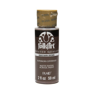FOLKART ACRYLIC BARK BROWN (2OZ)