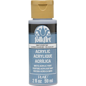 FOLKART ACRYLIC CLOUDY DAY (2OZ)