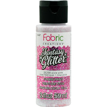 FABRIC CREATIONS FANTASY GLITTER PIXIE PINK (2OZ)