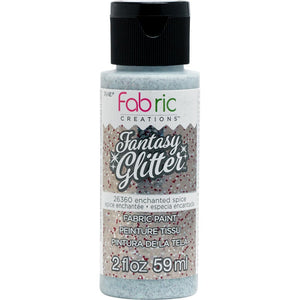 FABRIC CREATIONS FANTASY GLITTER ENCHANTED SPICE (2OZ)