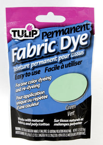 Tulip Fabric Dye 50g GREEN
