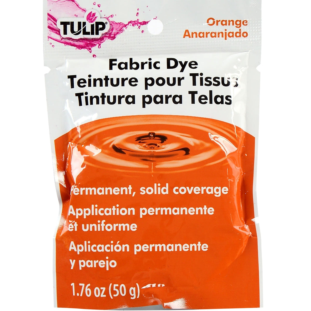 Tulip Fabric Dye 50g ORANGE