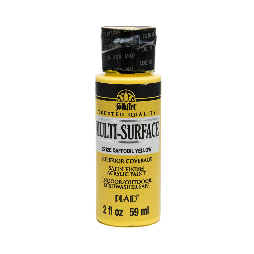 FOLKART ACRYLIC MULTI USE DAFFODIL YELLOW (2OZ)