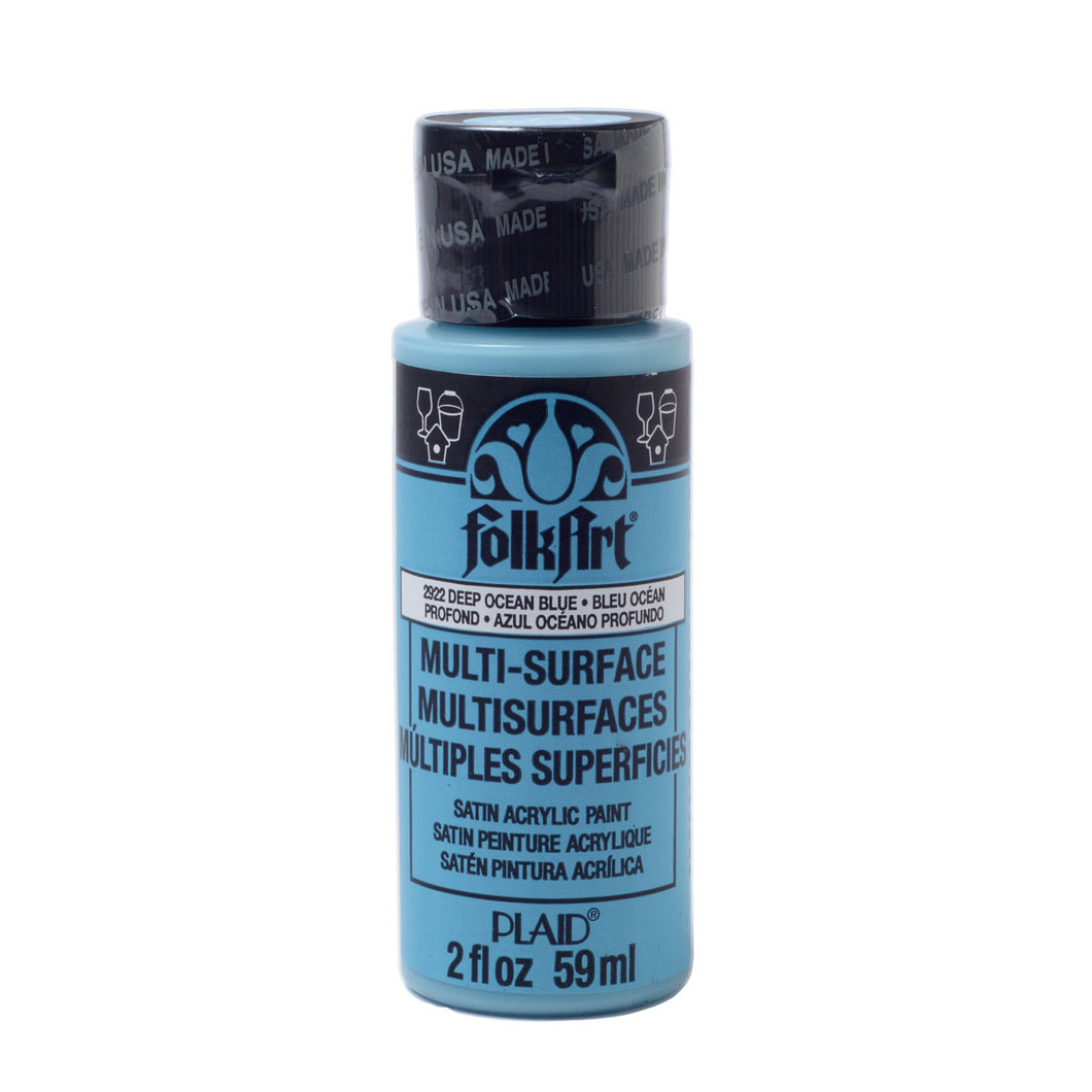 FOLKART ACRYLIC MULTI USE DEEP OCEAN BLUE (2OZ)