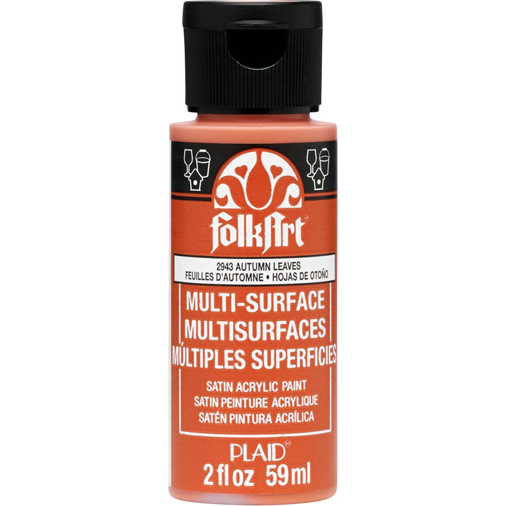 FOLKART ACRYLIC MULTI USE AUTUMN LEAVES (2OZ)