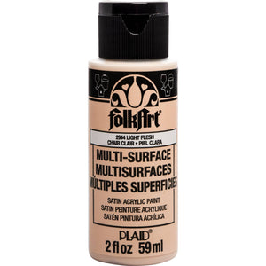FOLKART ACRYLIC MULTI USE LIGHT FLESH (2OZ)