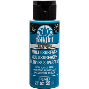 FOLKART ACRYLIC MULTI USE CAYMAN BLUE (2OZ)