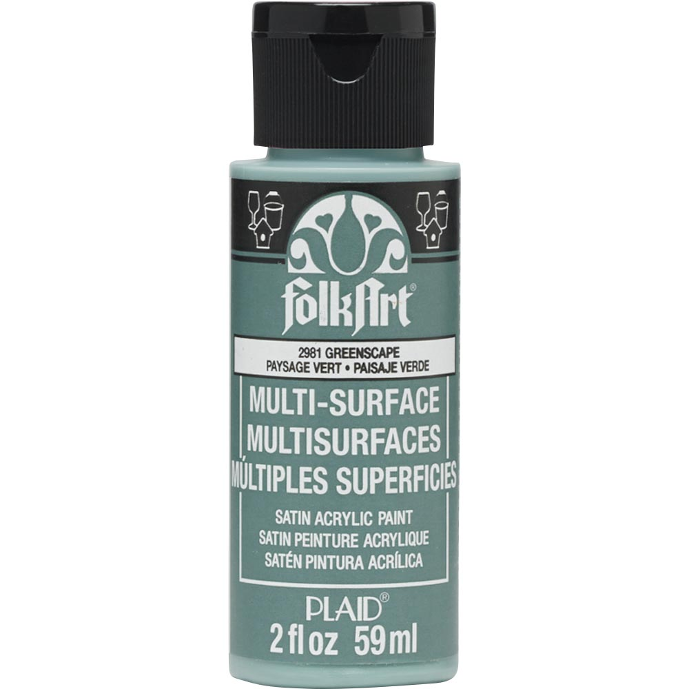FOLKART ACRYLIC MULTI USE GREENSCAPE (2OZ)