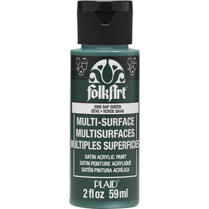 FOLKART ACRYLIC MULTI USE SAP GREEN (2OZ)