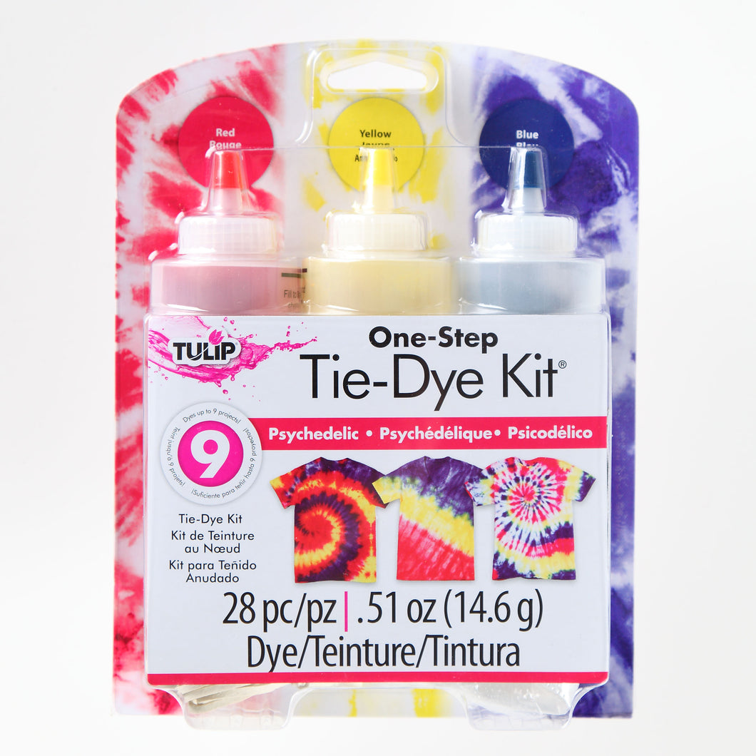 TULIP ONE STEP TIE DYE KIT PSYCHEDELIC