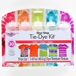 Tulip Luau 5 pack One Step Tie Dye