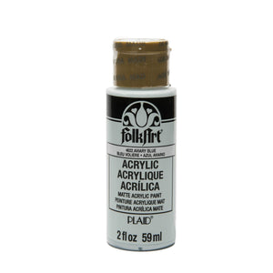FOLKART ACRYLIC  AVIARY BLUE (2OZ)
