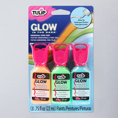 Tulip 3d Glow in the Dark 3 pack - Dimensional Paint Multi-surface