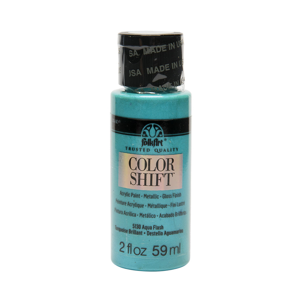 FOLKART COLOR SHIFT AQUA FLASH (2OZ)
