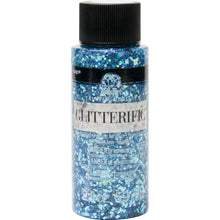 Folkart Glitterific 2oz AQUA Plaid Crafts