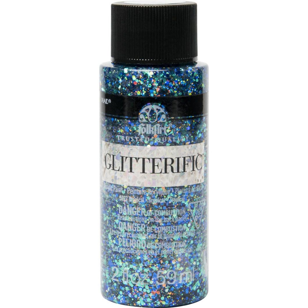 Folkart Glitterific 2oz TROPICAL