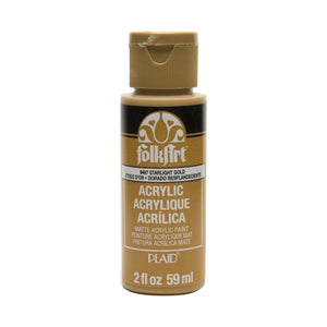 FOLKART ACRYLIC STARLIGHT GOLD (2OZ)