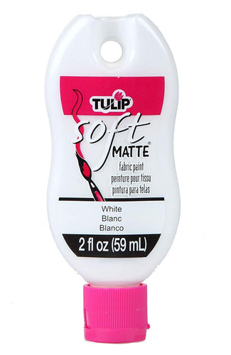 Tulip Soft Fabric Paint 2oz MATTE WHITE