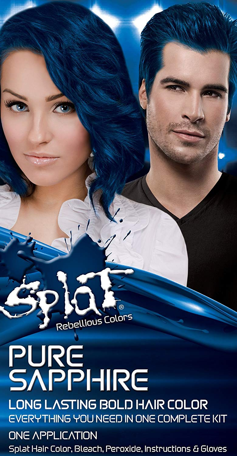 Cosmetics - Splat Hair Colour Kit - Pure Sapphire