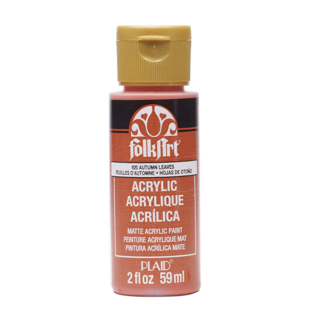 FOLKART ACRYLIC AUTUMN LEAVES (2OZ)