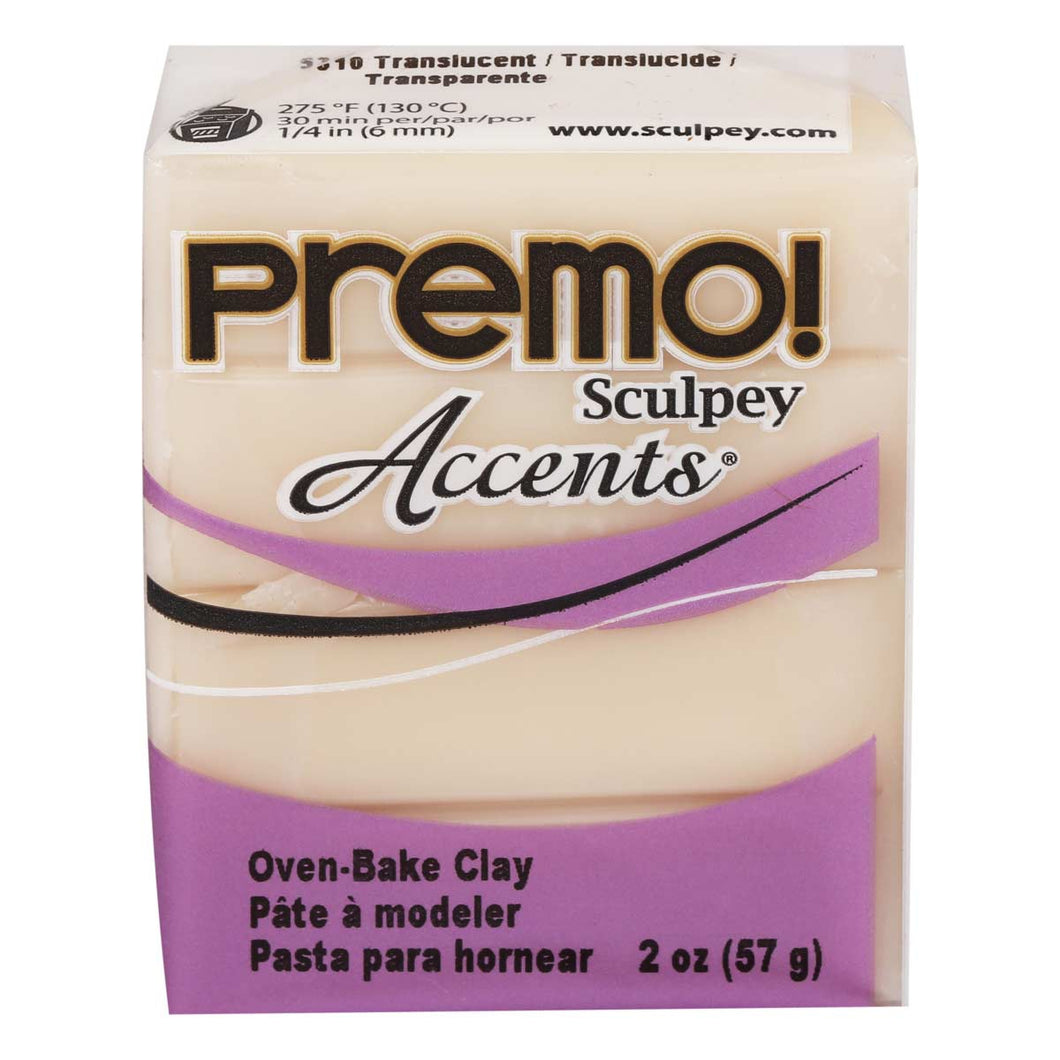 Premo Sculpey Accents  Translucent (2oz)