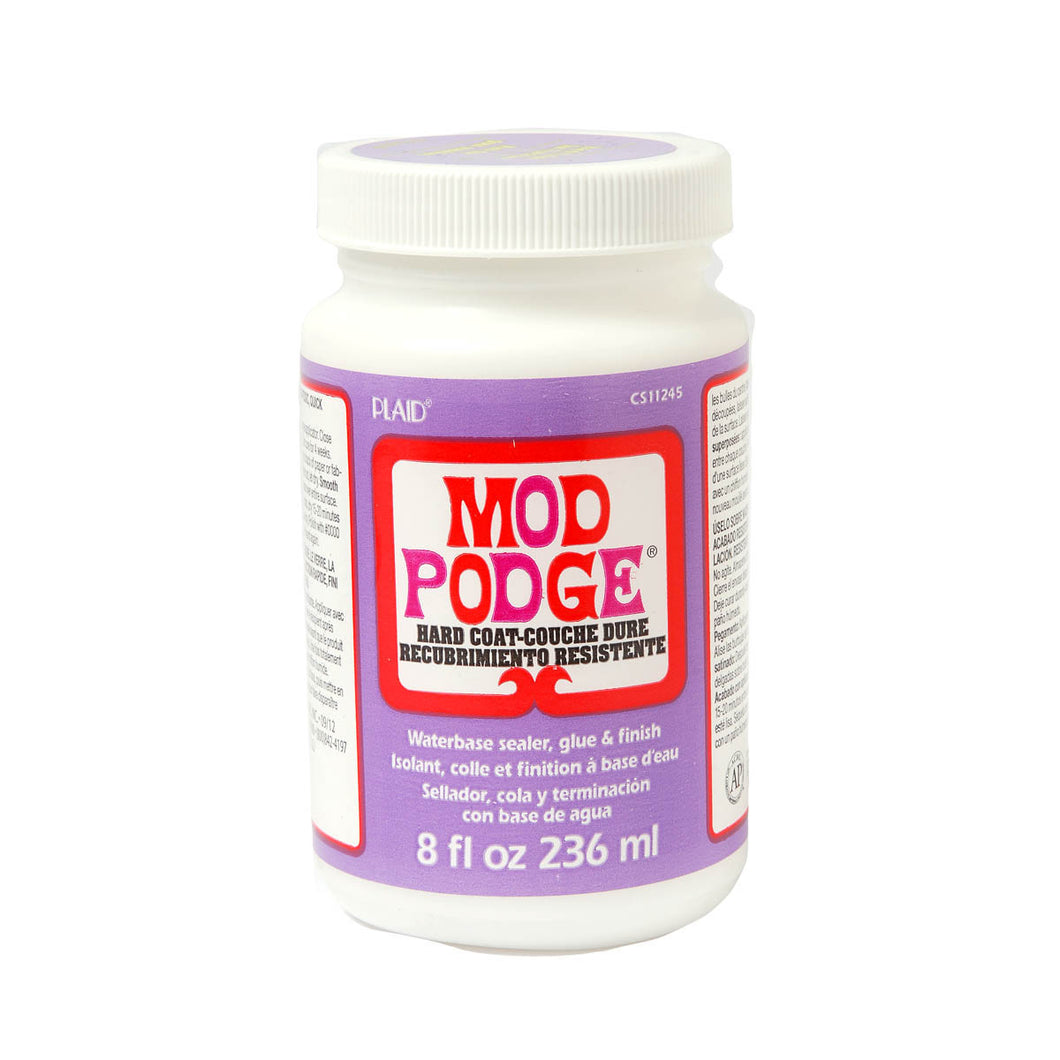 MOD PODGE  HARD COAT (8OZ)