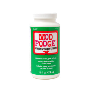 MOD PODGE OUTDOOR 16oz Decoupage Glue Sealer