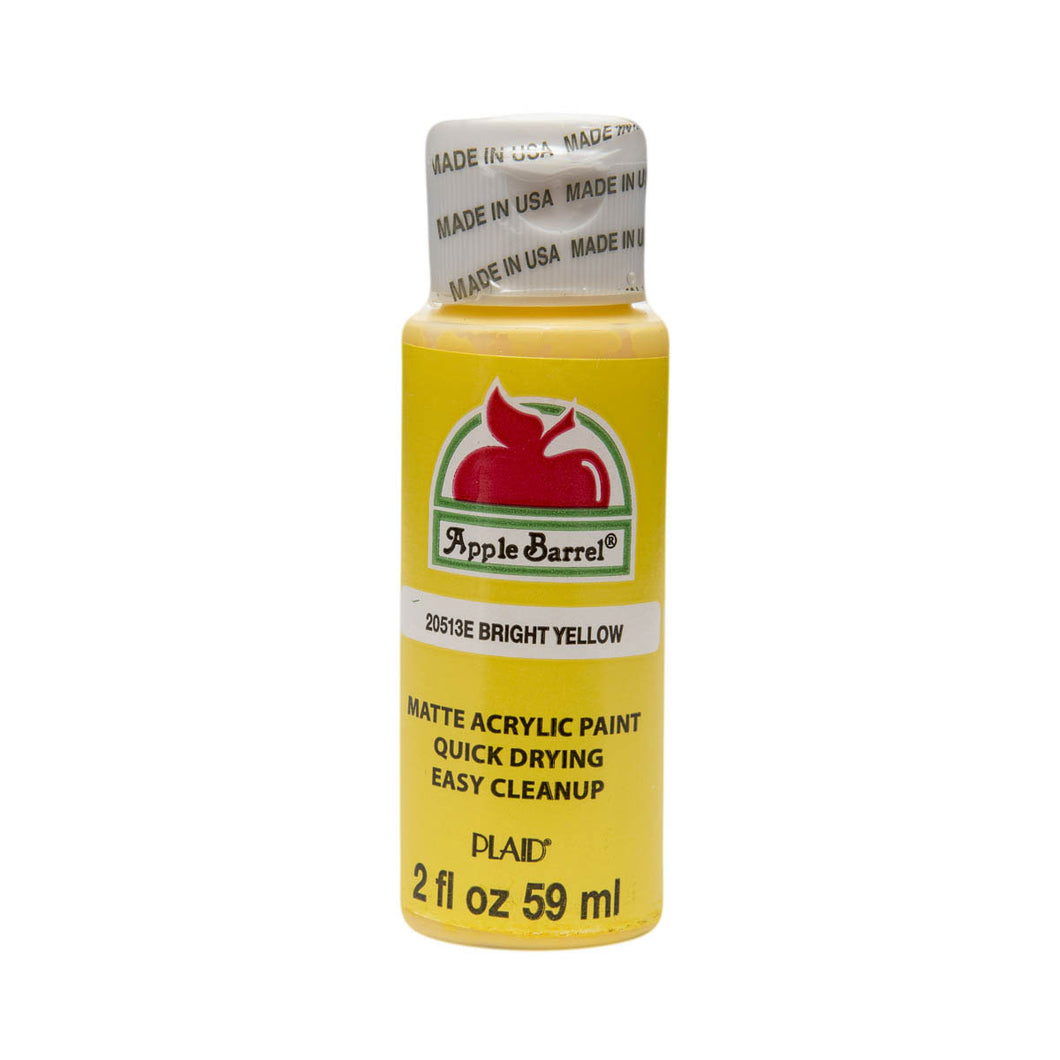 APPLE BARREL BRIGHT YELLOW (2OZ)