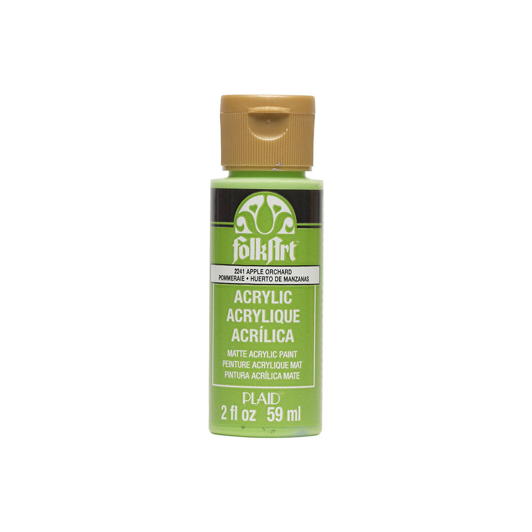 FOLKART ACRYLIC APPLE ORCHARD (2OZ)