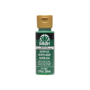 FOLKART ACRYLIC HOLLY LEAF (2OZ)