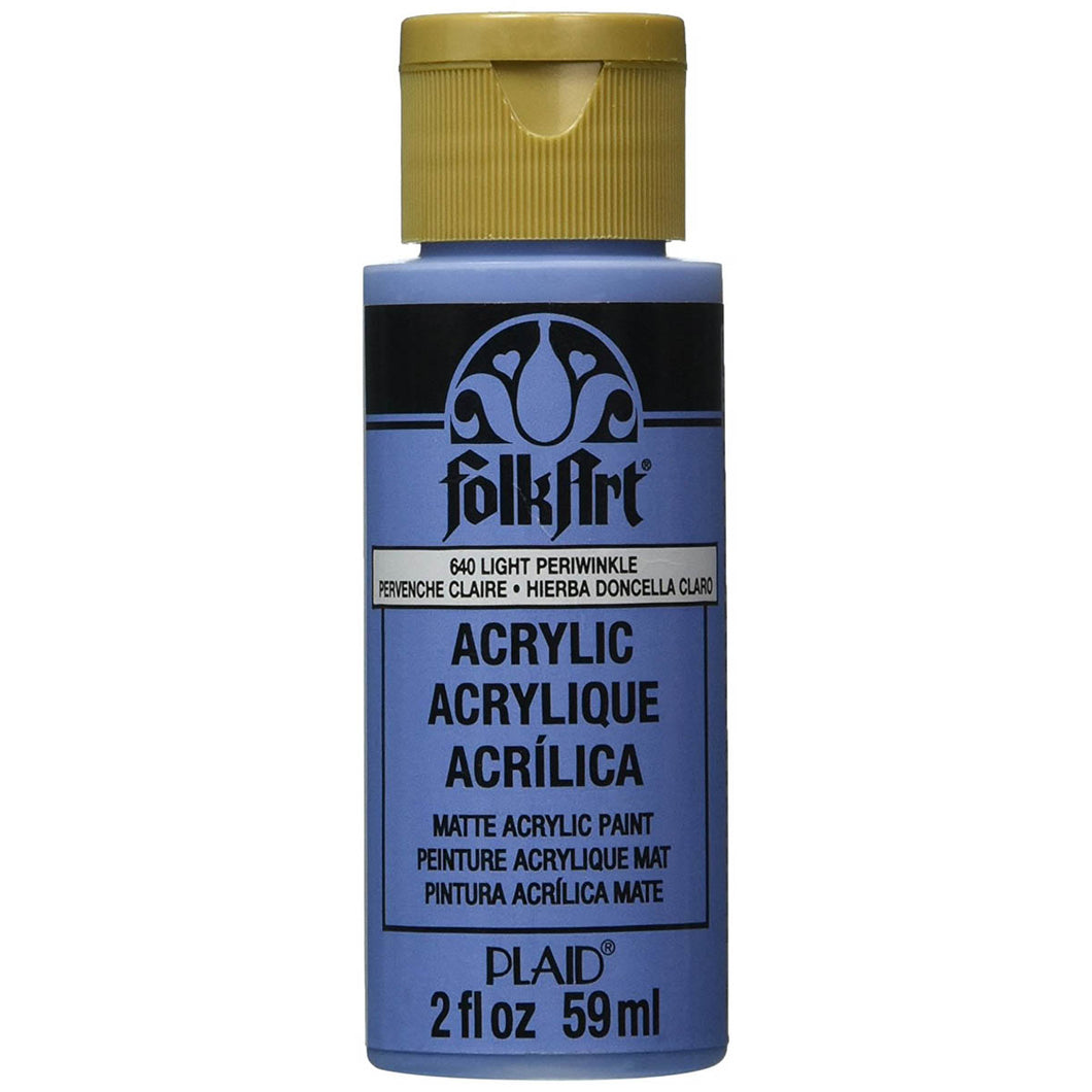 FOLKART ACRYLIC LIGHT PERIWINKLE (2OZ)
