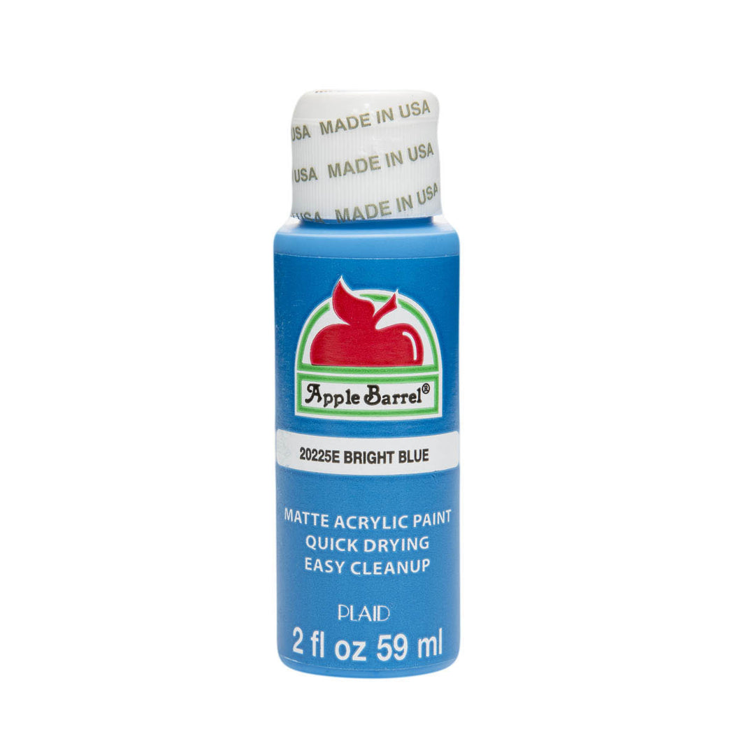 APPLE BARREL BRIGHT BLUE (2OZ)