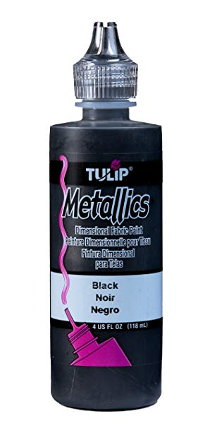TULIP 4OZ METALLIC BLACK