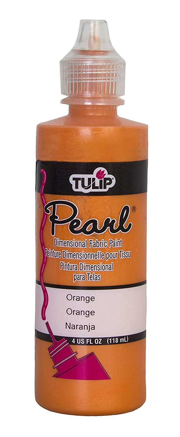 TULIP 4OZ PEARL ORANGE