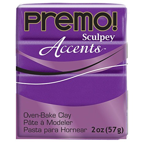 Premo Sculpey Accents Purple Pearl (2oz)