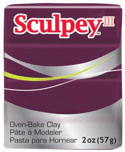 Sculpey III  Gentle Plum (2oz) (57g)
