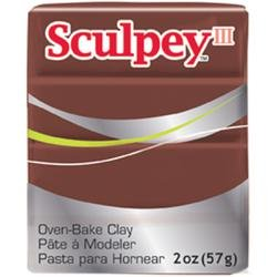 Sculpey III  Chocolate (2oz) (57g)
