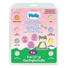 Pluffy Pastel Multi Pack 8 Colors x 1 oz 28 g K3 4032 - Polymer Clay