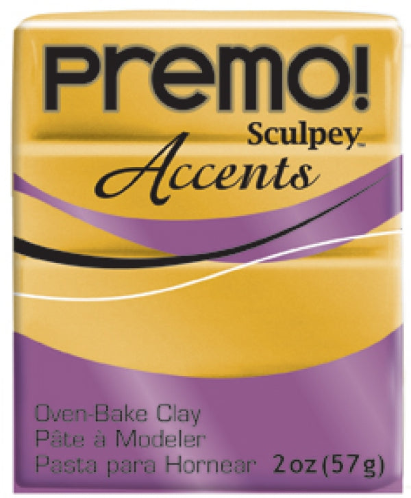 Premo Sculpey Accents 18K Gold (2oz)