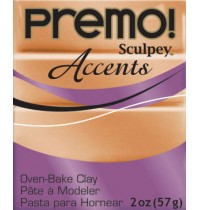Premo Sculpey Accents Gold (2oz)