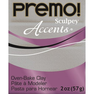Premo Sculpey Accents  White Gold Glitter (2oz)