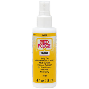 Mod Podge Ultra Matte 4oz