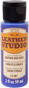 Leather Studio Paint - Cobalt Blue Hue - Cosplay Plaid Crafts