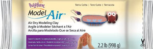 Model Air Dry Clay  Terra Cotta 1 kg/2.2lb  AD2222T
